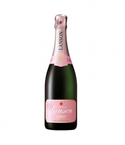 CHAMPAGNE LANSON ROSE LABEL 75 CL.