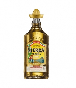 TEQUILA SIERRA REPOSADO 100% AGAVE 70 CL.
